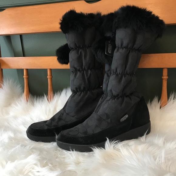Coach Theona Winter Snow Boots